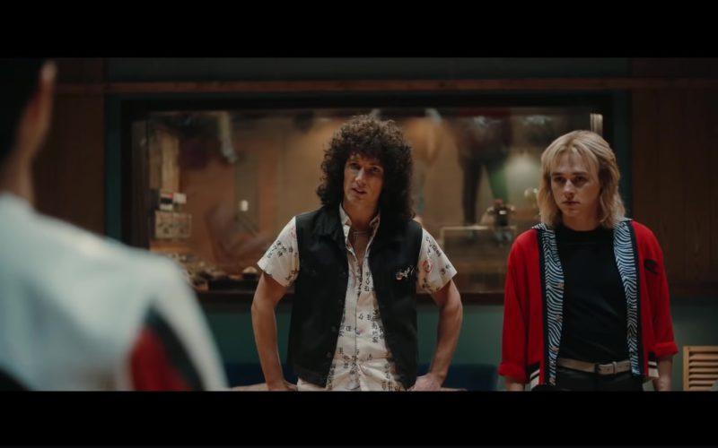 Champion Jacket (Red) Worn by Ben Hardy in Bohemian Rhapsody