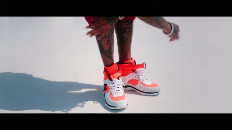 "Men's Sneakers by Chanel in ""Taste"" by Tyga ft. Offset (2018) Official Music Video Product Placement"