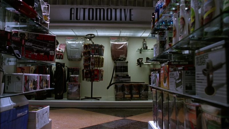 Coleman and Black & Decker in Batman Returns (1992) Movie Product Placement