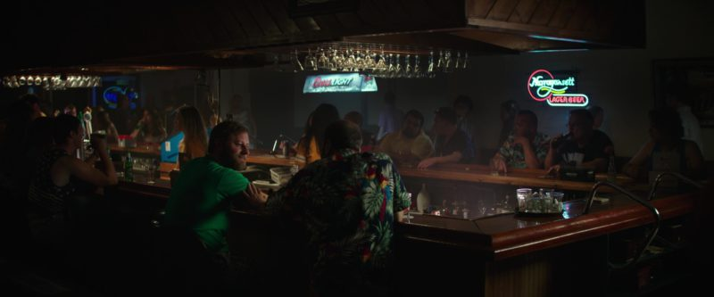 Coors Light and Narragansett Beer Signs in I Feel Pretty (2018) Movie Product Placement