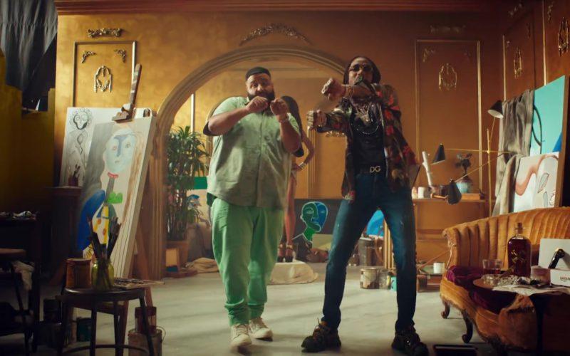 """DG Belt Worn by Quavo in """"No Brainer"""" by DJ Khaled (1)"""