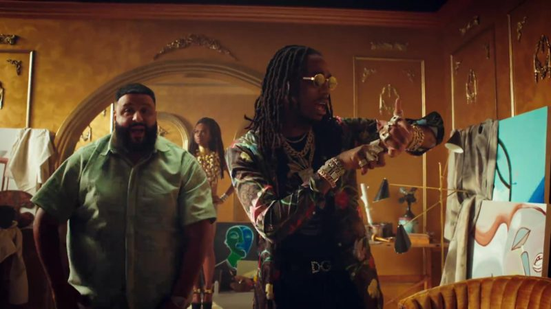 "DG Belt Worn by Quavo in ""No Brainer"" by DJ Khaled (2018) - Official Music Video Product Placement"