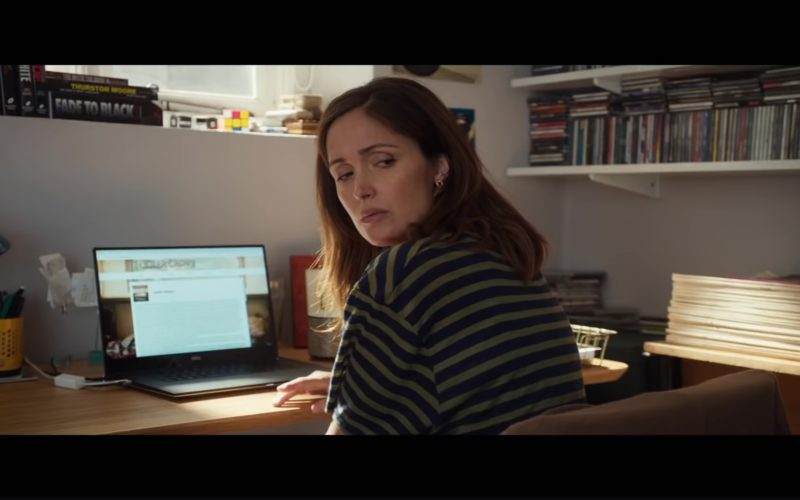 Dell Laptop Used by Rose Byrne in Juliet, Naked