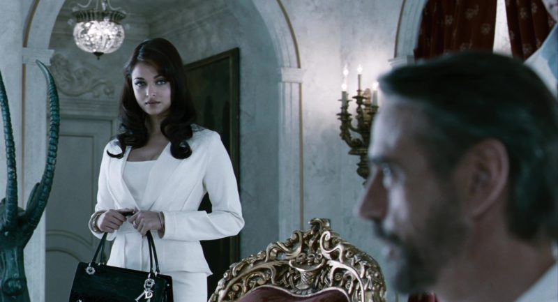Dior Handbag Used by Aishwarya Rai (Sonia) in The Pink Panther 2 (2009) Movie Product Placement