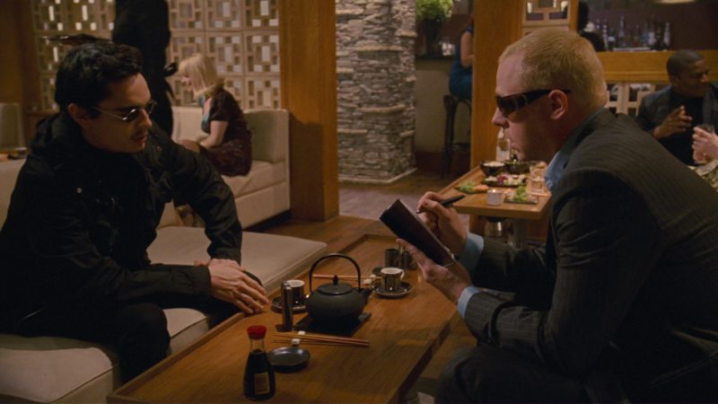 Dior Sunglasses Worn by Simon Pegg in How to Lose Friends & Alienate People (2008) - Movie Product Placement