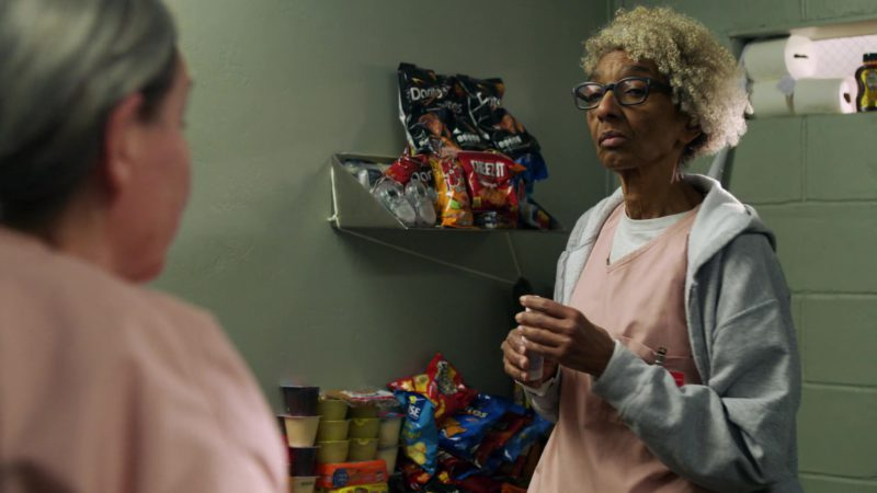 Doritos, Fritos, Cheez-It and Wise Foods in Orange Is the New Black: Well This Took a Dark Turn (2018) - TV Show Product Placement