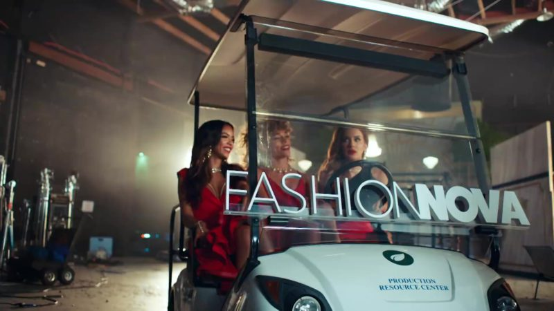 "Fashion Nova Online Store in ""No Brainer"" by DJ Khaled ft. Justin Bieber, Chance the Rapper, Quavo (2018) Official Music Video Product Placement"
