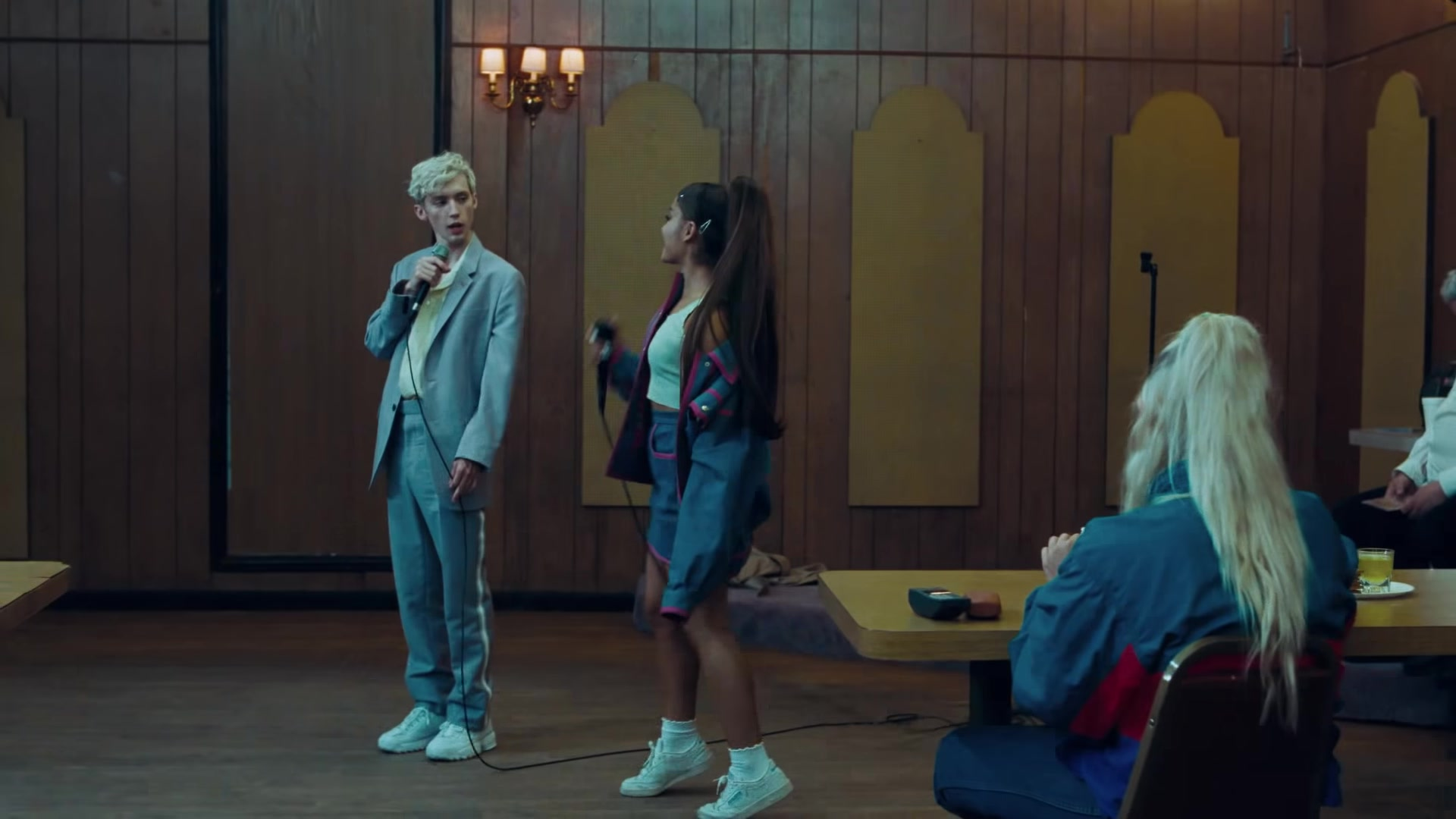 fila sneakers worn by troye sivan in quotdance to thisquot ft