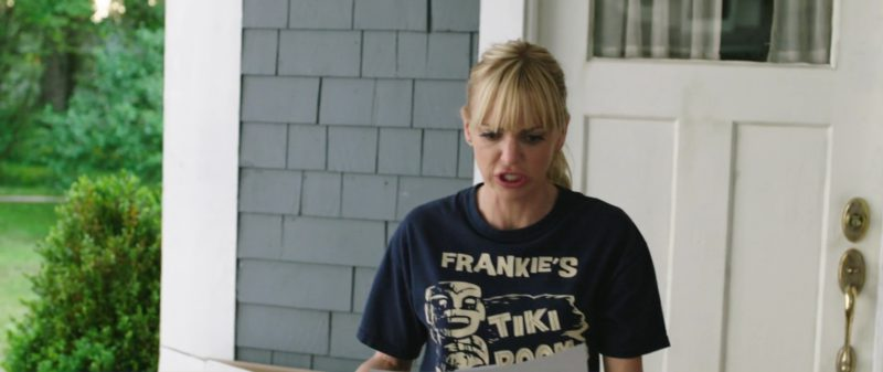 Frankie's Tiki Room T-Shirt Worn by Anna Faris in Overboard (2018) Movie Product Placement