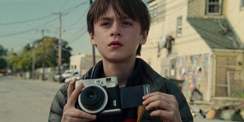 Fujifilm Instax Mini 90 Camera Used by Jaeden Lieberher in The Book of Henry (2017) - Movie Product Placement