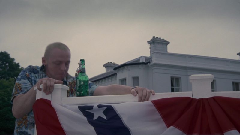 Grolsch Beer Drunk by Simon Pegg in How to Lose Friends & Alienate People (2008) - Movie Product Placement