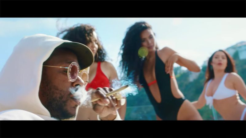 "Gucci Eyewear L'Aveugle Par Amour Round Sunglasses in ""Taste"" by Tyga ft. Offset (2018) Official Music Video Product Placement"