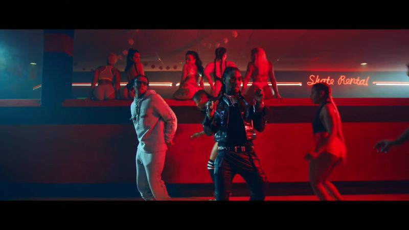 "Gucci Sweatpants and Hoodie (Sweatsuit) in ""Taste"" by Tyga ft. Offset (2018) - Official Music Video Product Placement"