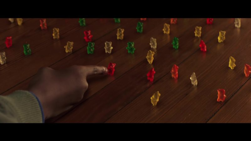 Haribo Gummy Bears in Goosebumps 2: Haunted Halloween (2018) Movie Product Placement
