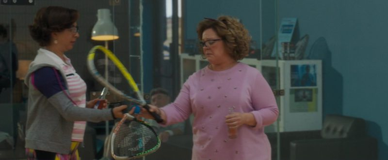 Harrow Sports Squash Racquets Used by Melissa McCarthy and Maya Rudolph in Life of the Party (2018) Movie Product Placement