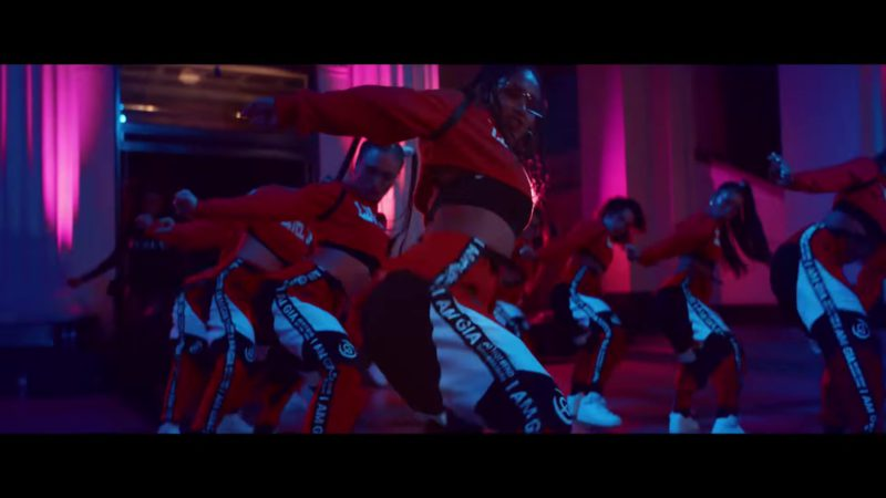 I.AM.GIA Electra Pants Worn by Models in Level Up by Ciara (2018) - Official Music Video Product Placement