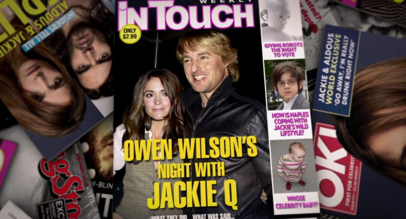 In Touch Weekly and OK! Magazines in Get Him to the Greek (2010) Movie Product Placement