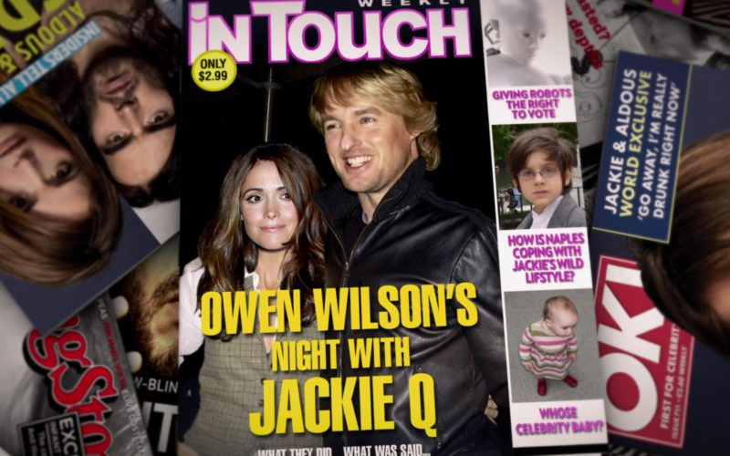 In Touch Weekly and OK! Magazines in Get Him to the Greek