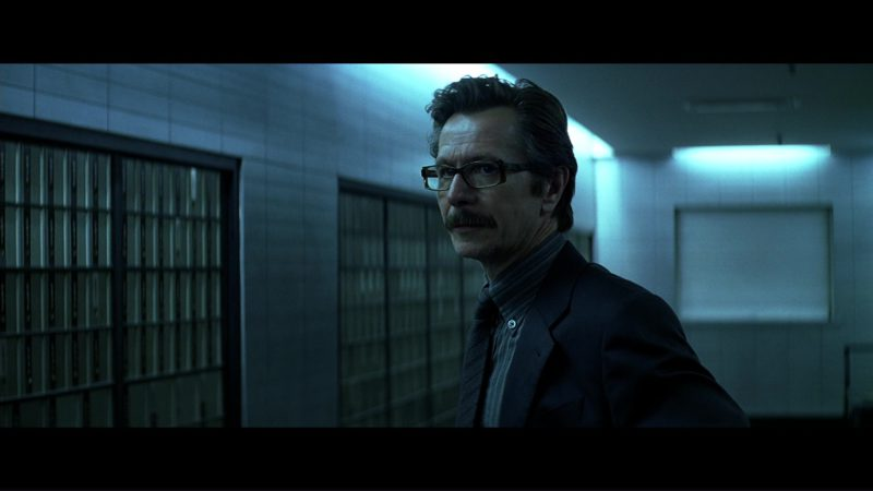 Kirk Originals model LOI Eyeglasses Worn by Gary Oldman (Commissioner Gordon) in The Dark Knight (2008) - Movie Product Placement