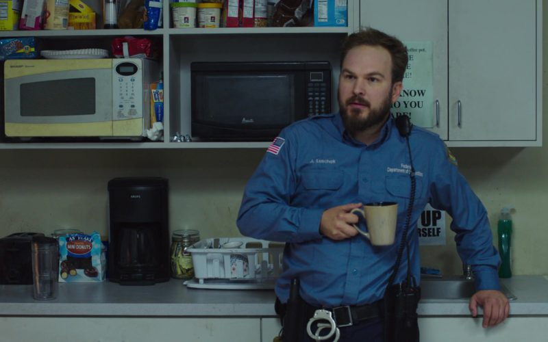 Krups Coffee Machine in Orange Is the New Black