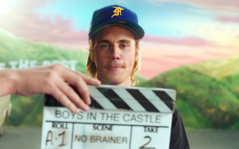 "Lakers Cap Worn by Justin Bieber in ""No Brainer"" (1)"