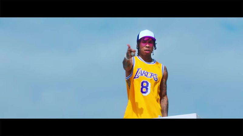 """Lakers Jersey in """"Taste"""" by Tyga ft. Offset (2018) Official Music Video Product Placement"""