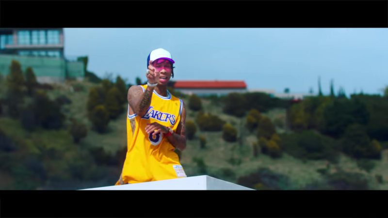 "Lakers Jersey in ""Taste"" by Tyga ft. Offset (2018) Official Music Video Product Placement"
