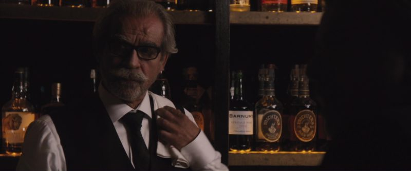 Michter's Whiskey in The Con Is On (2018) Movie Product Placement