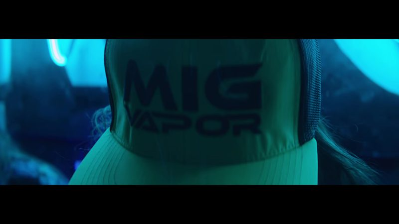 Mig Vapor Caps Worn by Models in Original (2018) by Bad Bunny ft. Arcangel Latin Music Video Product Placement