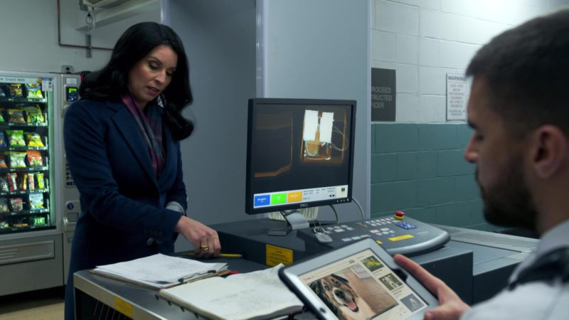 Monitor by DELL in Orange Is the New Black: Well This Took a Dark Turn (2018) - TV Show Product Placement