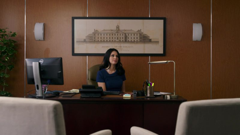Monitor by DELL in Orange Is the New Black: Mischief Mischief (2018) TV Show Product Placement