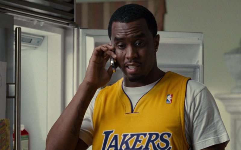 NBA Lakers Jersey Worn by Sean Combs in Get Him to the Greek (3)