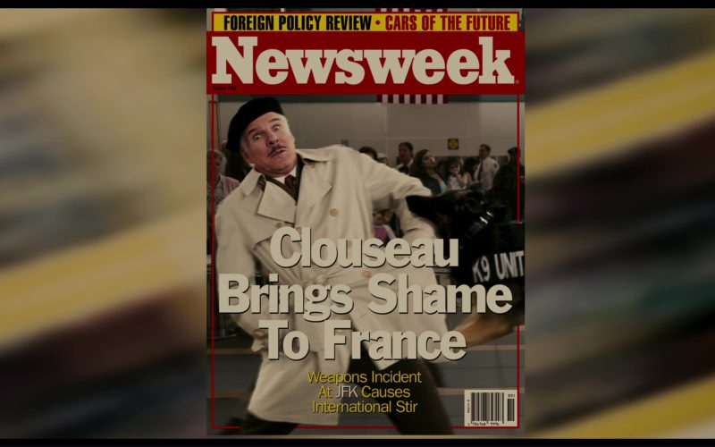 Newsweek Magazine in The Pink Panther