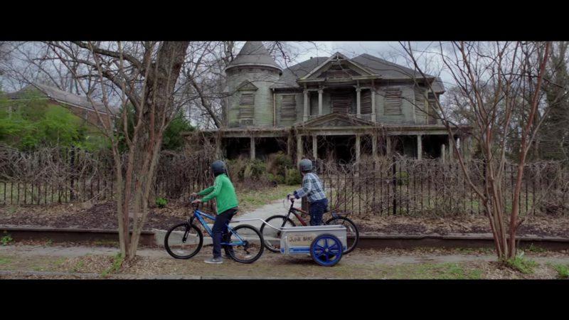 Nike Sneakers Worn by Caleel Harris in Goosebumps 2: Haunted Halloween (2018) Movie Product Placement