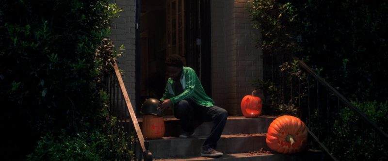 Nike Sneakers Worn by Caleel Harris in Goosebumps 2: Haunted Halloween (2018) Movie Product Placement