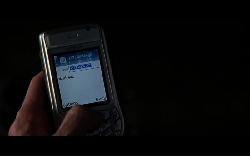 Nokia Phone Used by Gary Oldman (Commissioner James Gordon) in The Dark Knight (1)