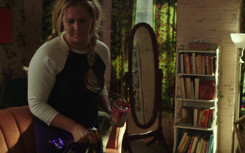 NongShim Kimchi Noodle Soup Held by Amy Schumer in I Feel Pretty