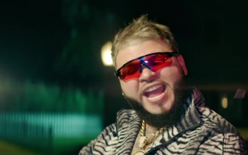 Oakley Sunglasses (Black Frames & Red Lenses) Worn by Farruko (3)