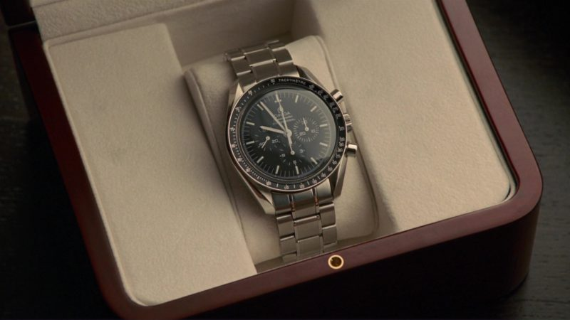Omega Speedmaster Professional Watch Used by Simon Pegg in How to Lose Friends & Alienate People (2008) Movie Product Placement