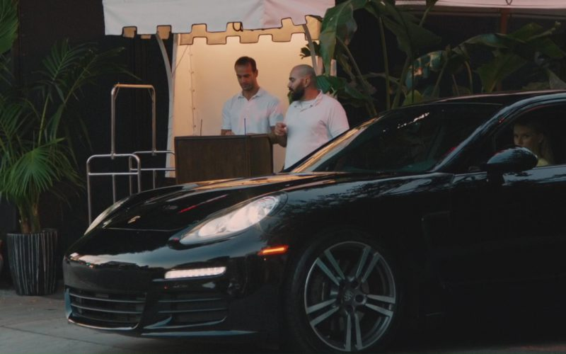 Porsche Panamera S Sports Car Driven by Alice Eve in The Con Is On (4)