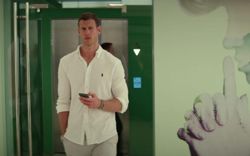 Ralph Lauren White Shirt Worn by Tom Hopper in I Feel Pretty (1)