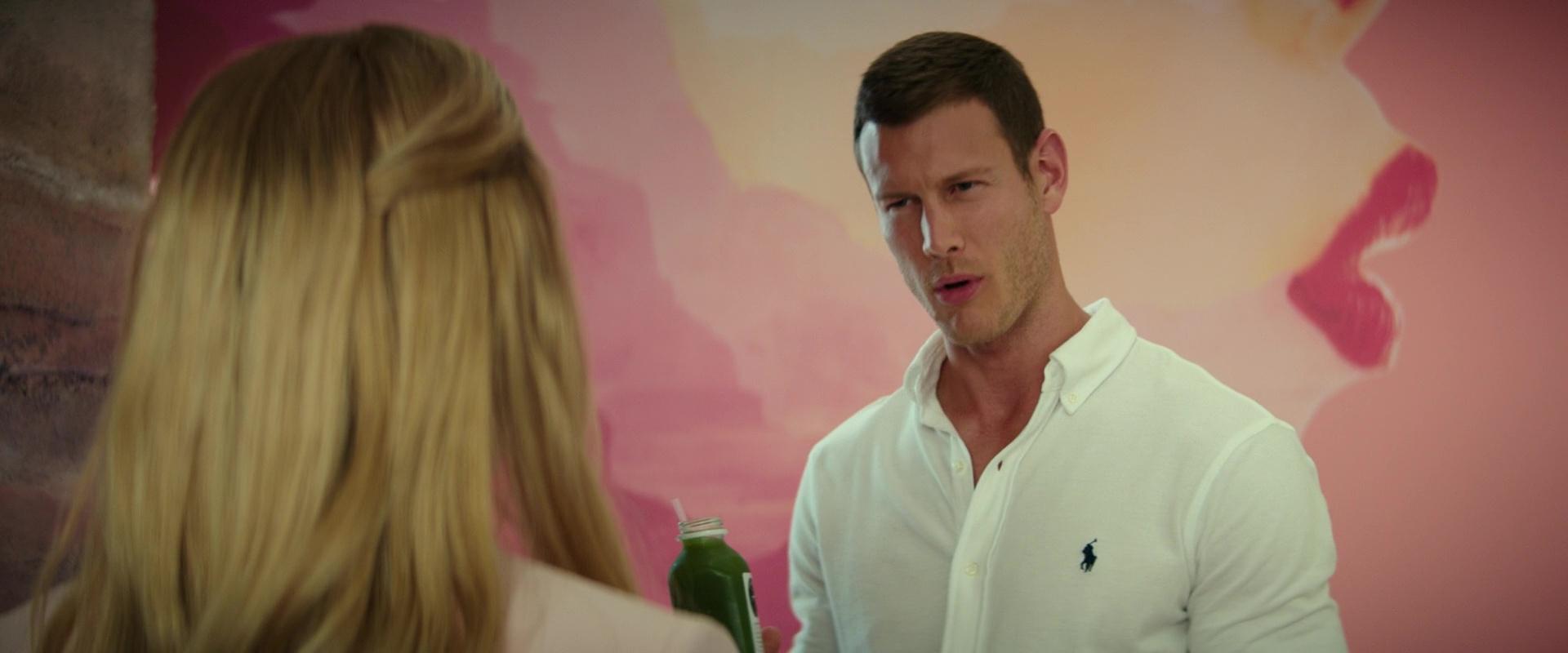 3dee24db23 Ralph Lauren White Shirt Worn by Tom Hopper in I Feel Pretty (2018) Movie