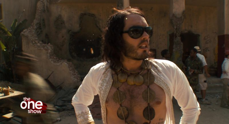 Ray-Ban Sunglasses Worn by Russell Brand and The One Show in Get Him to the Greek (2010) - Movie Product Placement