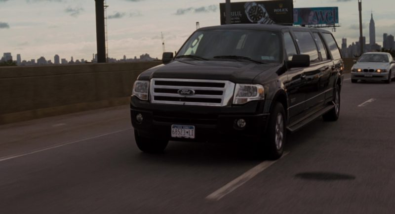 Rolex Watch Billboard and Ford Expedition EL Stretched Limousine Gen.3 in Get Him to the Greek (2010) - Movie Product Placement