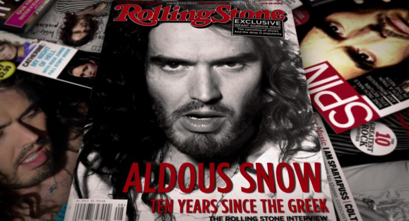 Rolling Stone and Spin Magazine in Get Him to the Greek (2010) - Movie Product Placement