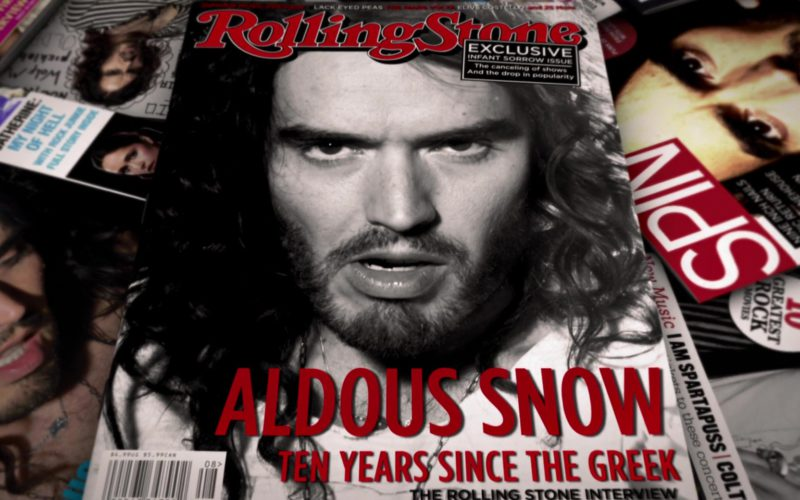 Rolling Stone and Spin Magazine in Get Him to the Greek