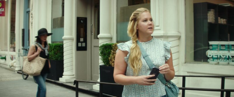 Samsung Galaxy Smartphone and Blick Art Materials in I Feel Pretty (2018) Movie Product Placement