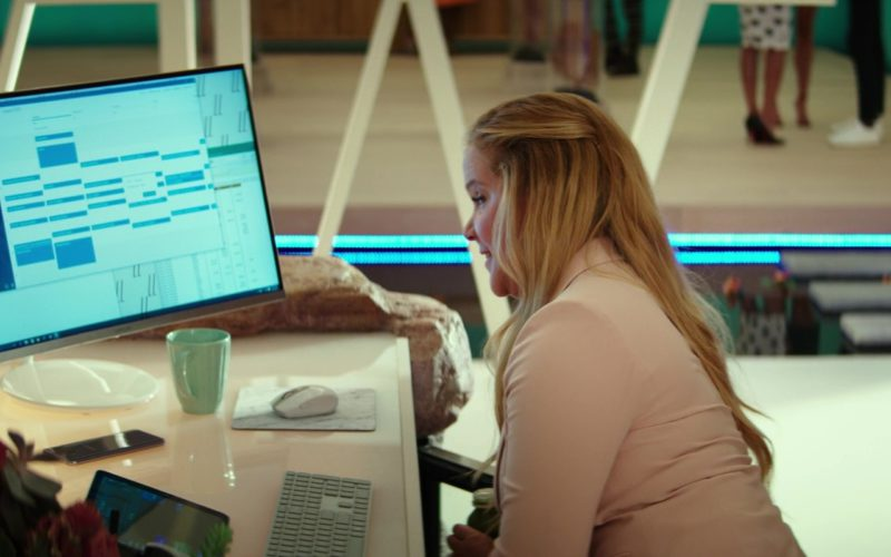 Samsung Monitor Used by Amy Schumer