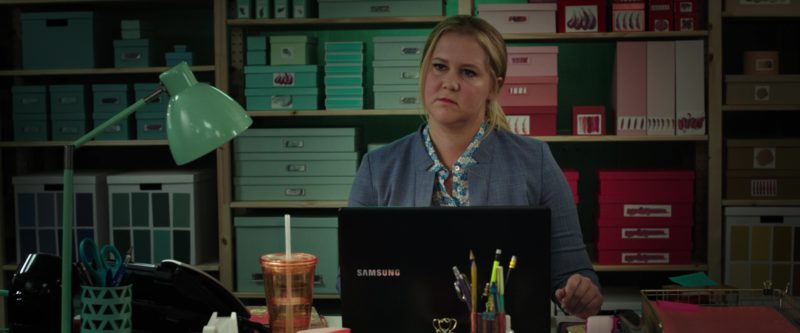 Samsung Notebook Used by Amy Schumer in I Feel Pretty (2018) - Movie Product Placement