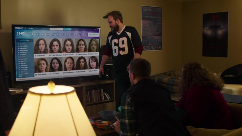 Samsung TV in Orange Is the New Black: Mischief Mischief (2018) TV Show Product Placement